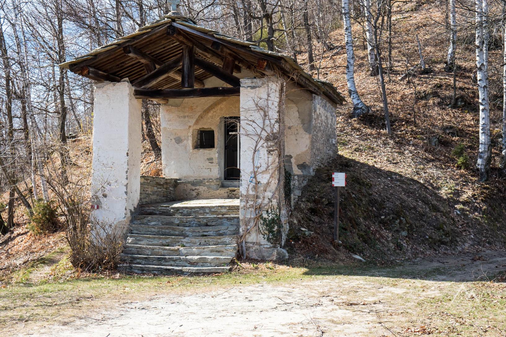La cappella dedicata a san Bernardo da Mentone